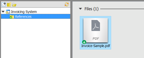 Invoice file added