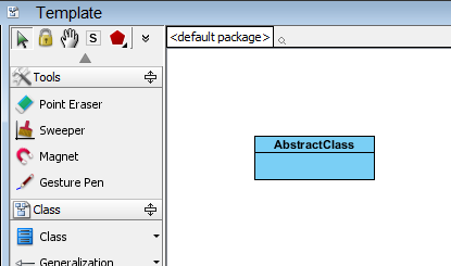 create abstract class