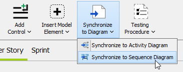 Synchronize to Sequence Diagram