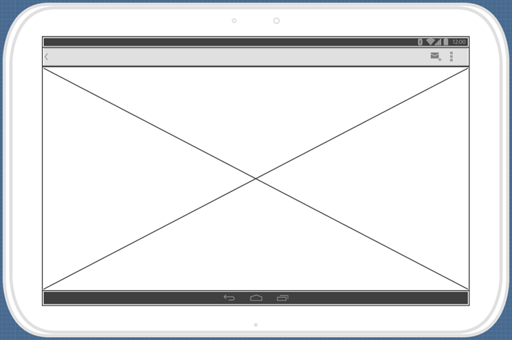 create image wireframe widget