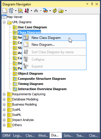 new class diagram - Visual Paradigm Viewer