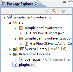 plugin xml created