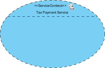 tax payment service contract created