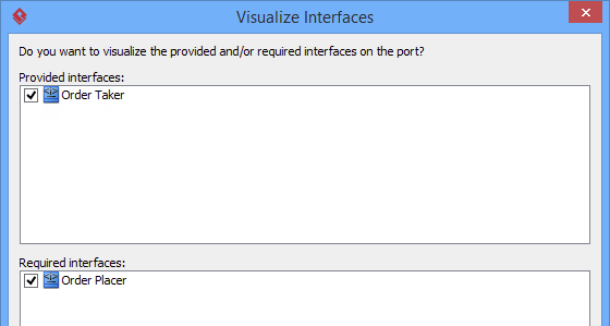 visualize interfaces