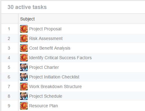 Manage work items in Tasifier - Just-in-Time Project Management