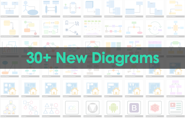 30+ new online diagrams